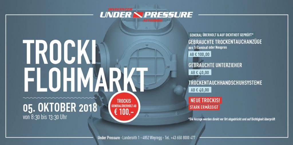 Under Pressure Tauchbasis Attersee Flohmarkt Trockentauchanzüge